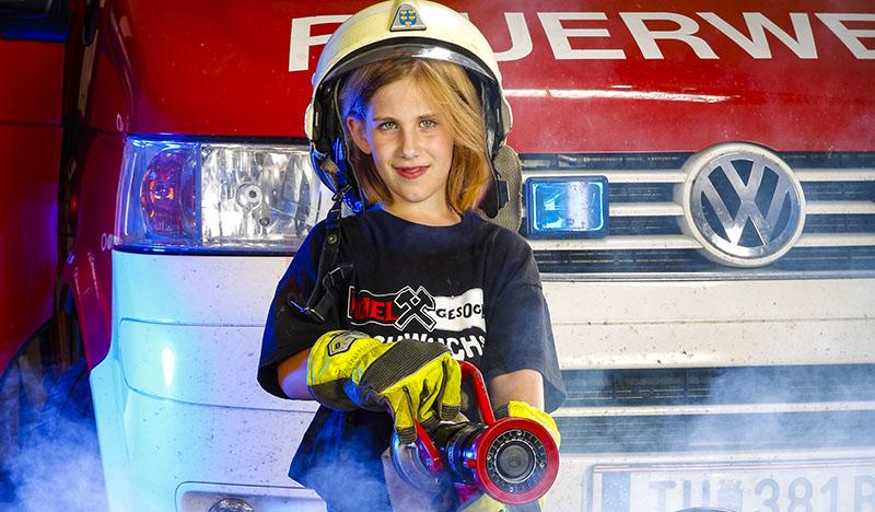 Junior-Action-Day bei der Feuerwehr